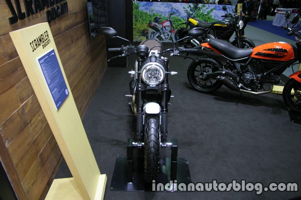 Ducati Scrambler Icon front at Thai Motor Expo