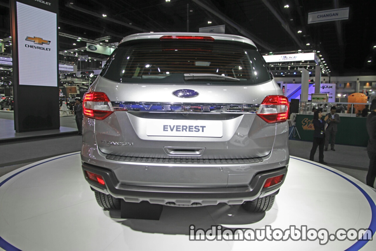 Ford Everest (Endeavour) Custom rear at the Thai Motor Expo Live