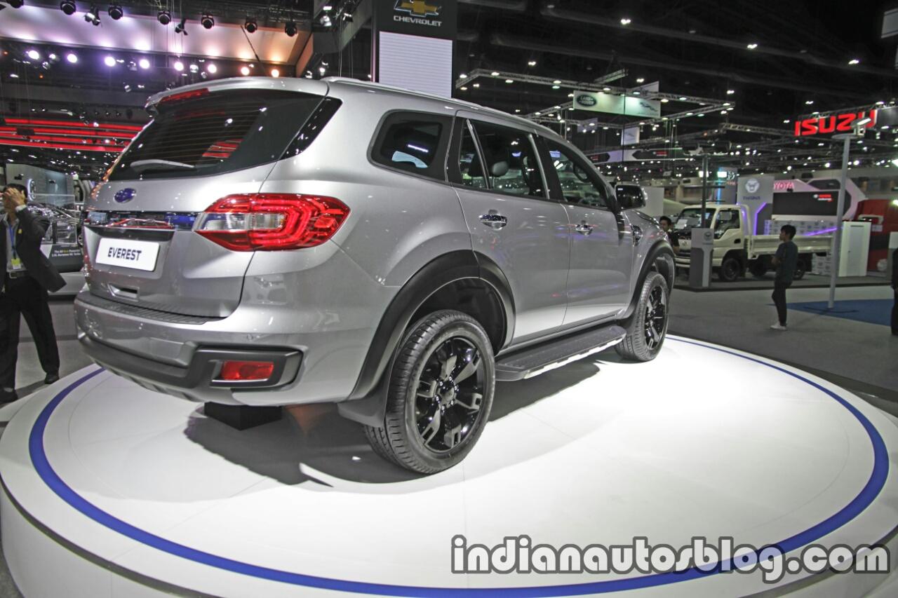 Ford Everest (Endeavour) Custom rear quarter at the Thai Motor Expo Live