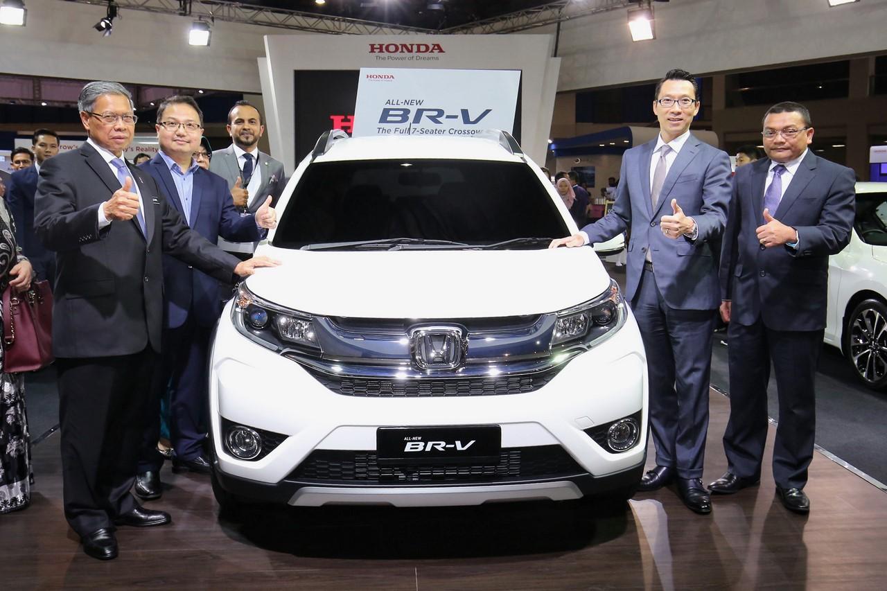 Honda BR-V Malaysia debut