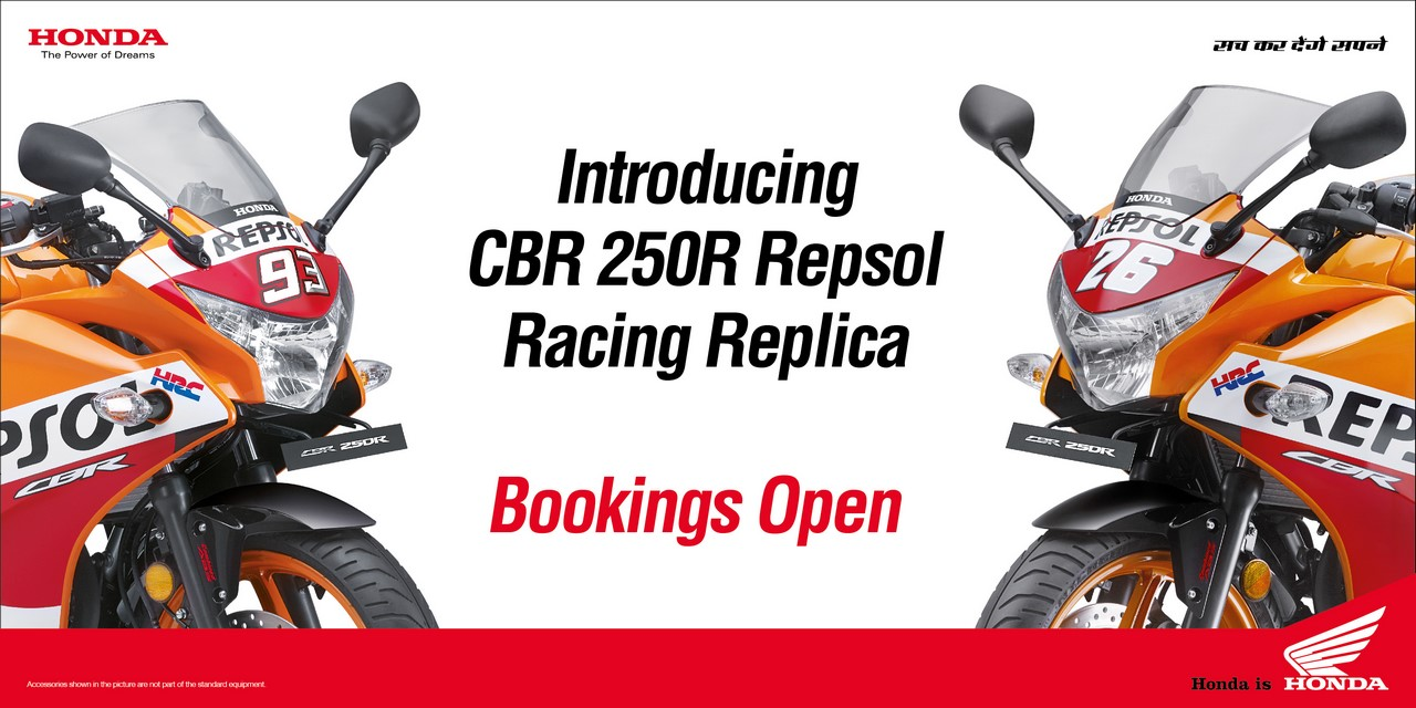 Honda CBR 250R Repsol Racing Replica Limited Edition