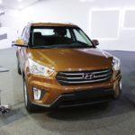Hyundai Creta front at 2016 Bogota Auto Show