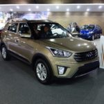 Hyundai Creta front three quarters at 2016 Bogota Auto Show