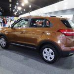Hyundai Creta rear three quarters at 2016 Bogota Auto Show