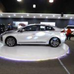 Hyundai Ioniq profile at 2016 Bogota Auto Show