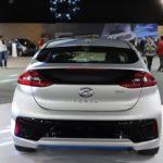 Hyundai Ioniq rear at 2016 Bogota Auto Show