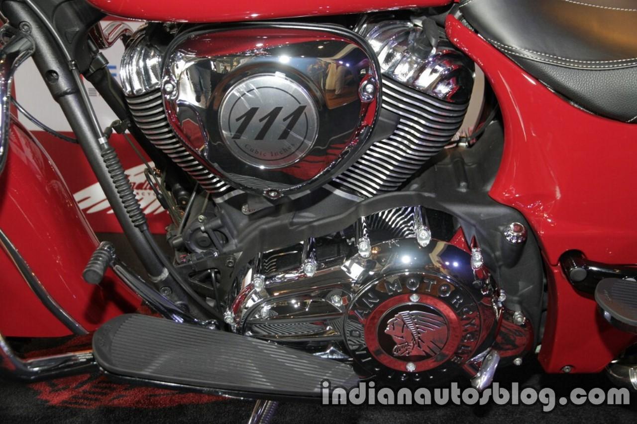 Indian Springfield engine