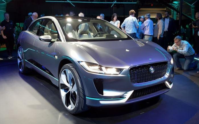 Jaguar i-Pace concept front live image