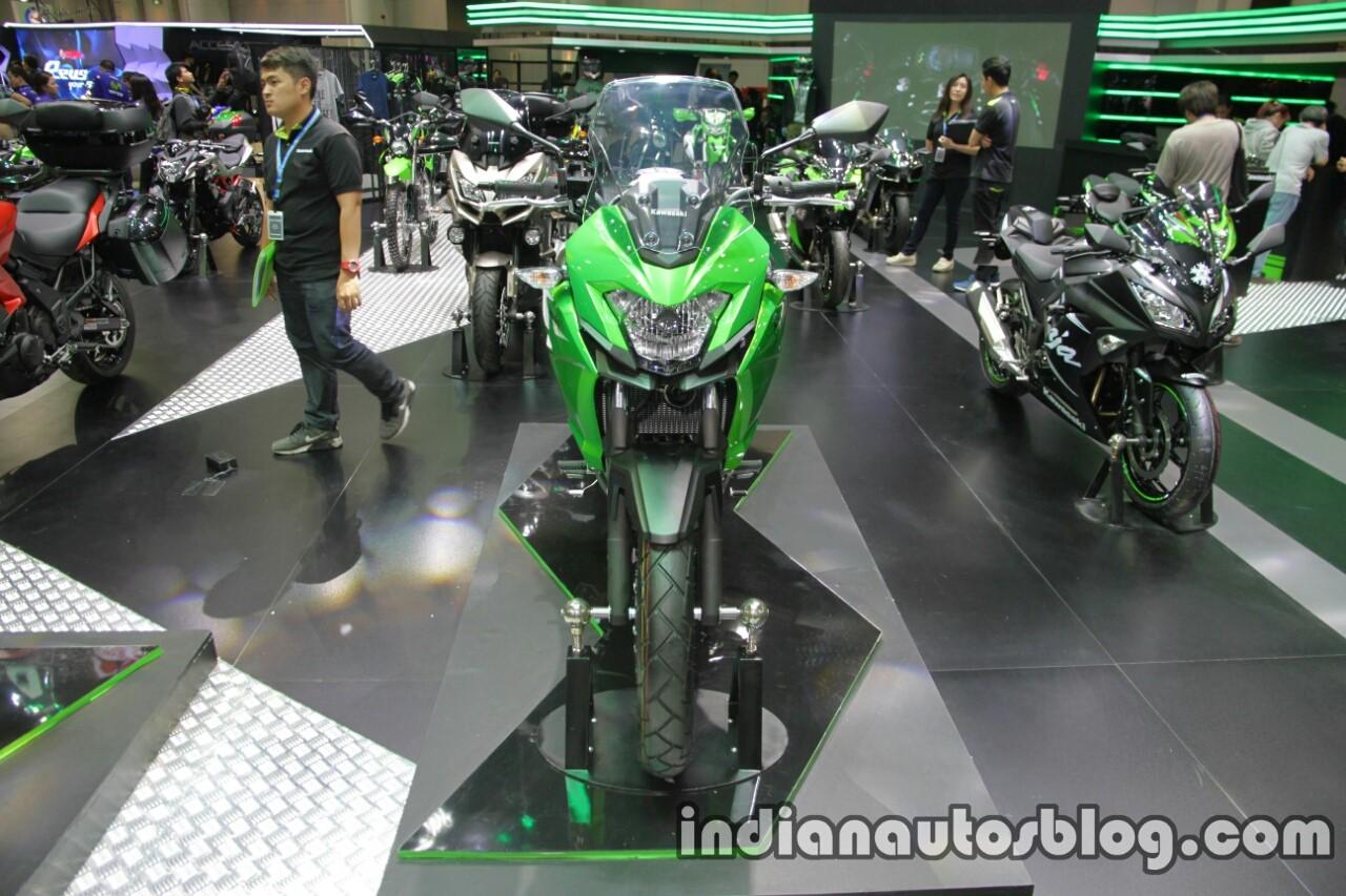 Kawasaki Versys X300 front at Thai Motor Expo