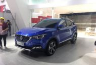 MG ZS front three quarter spied ahead of debut