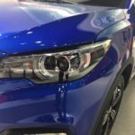 MG ZS headlamp spied ahead of debut
