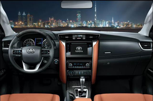 MY2017 Toyota Fortuner interior press image