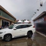 Mitsubishi Montero Sport left side at 2016 Bogota Auto Show