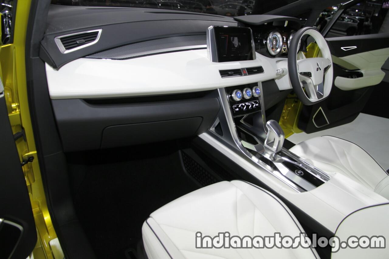 Mitsubishi XM Concept dashboard at the Thai Motor Expo