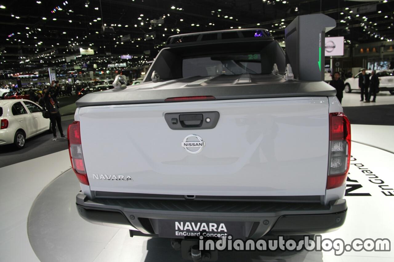 Nissan Navara EnGuard Concept rear at 2016 Thai Motor Expo