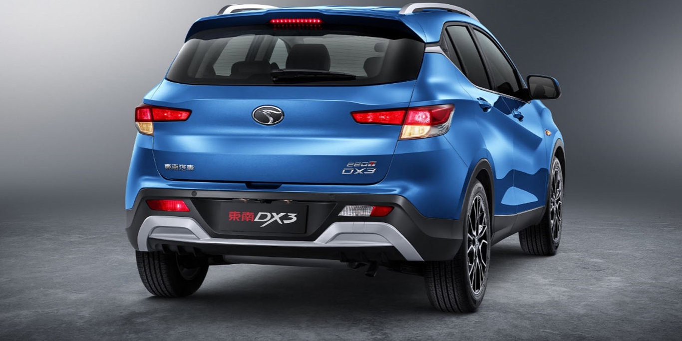 Pininfarina-designed SEM DX3 rear unveiled