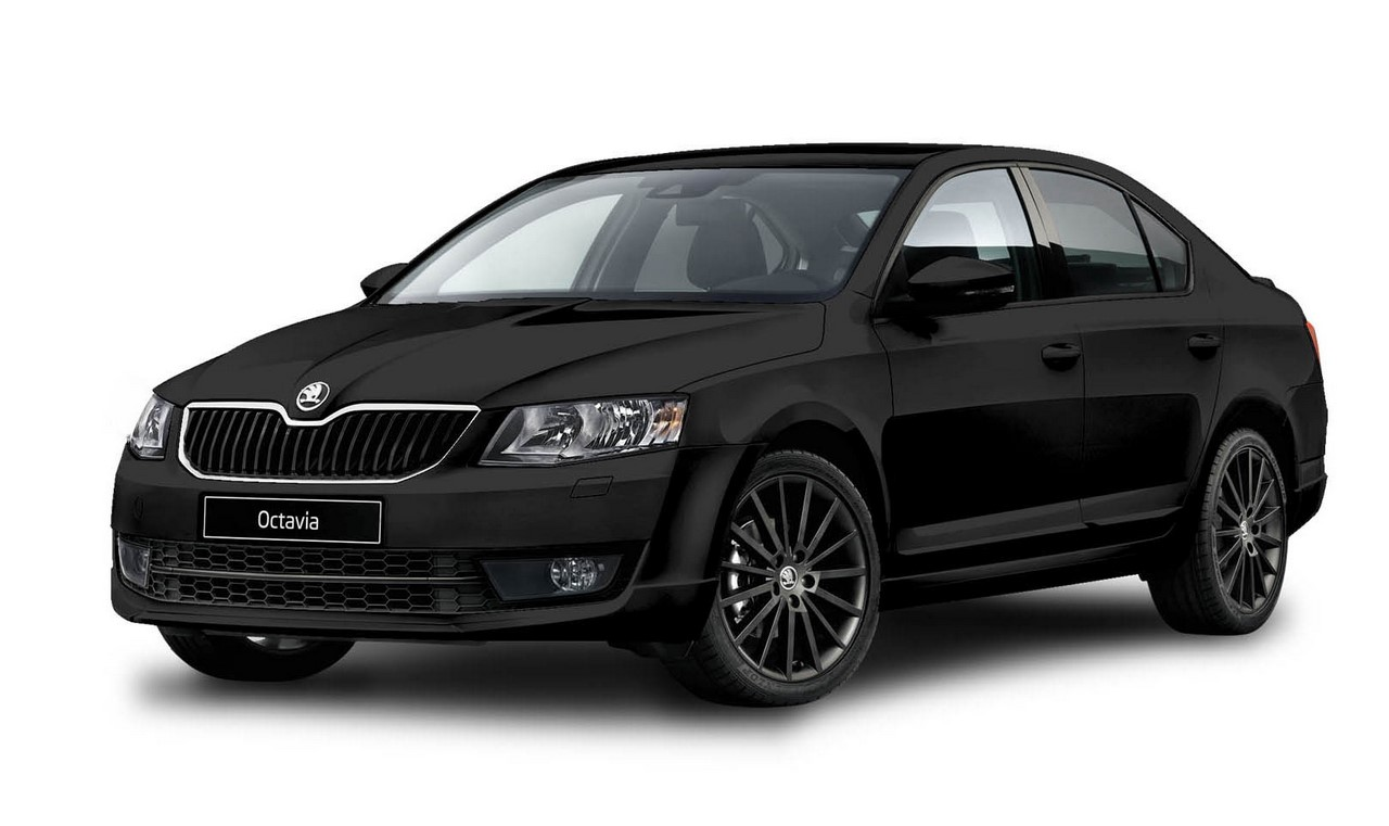 Skoda Superb Mats >> Skoda Octavia Black Edition arriving in India in January