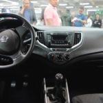 suzuki-baleno-dashboard-at-the-bogota-motor-show