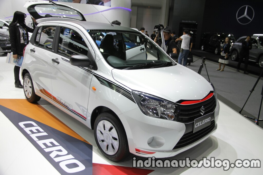 Suzuki Celerio Limited at Thai Motor Expo