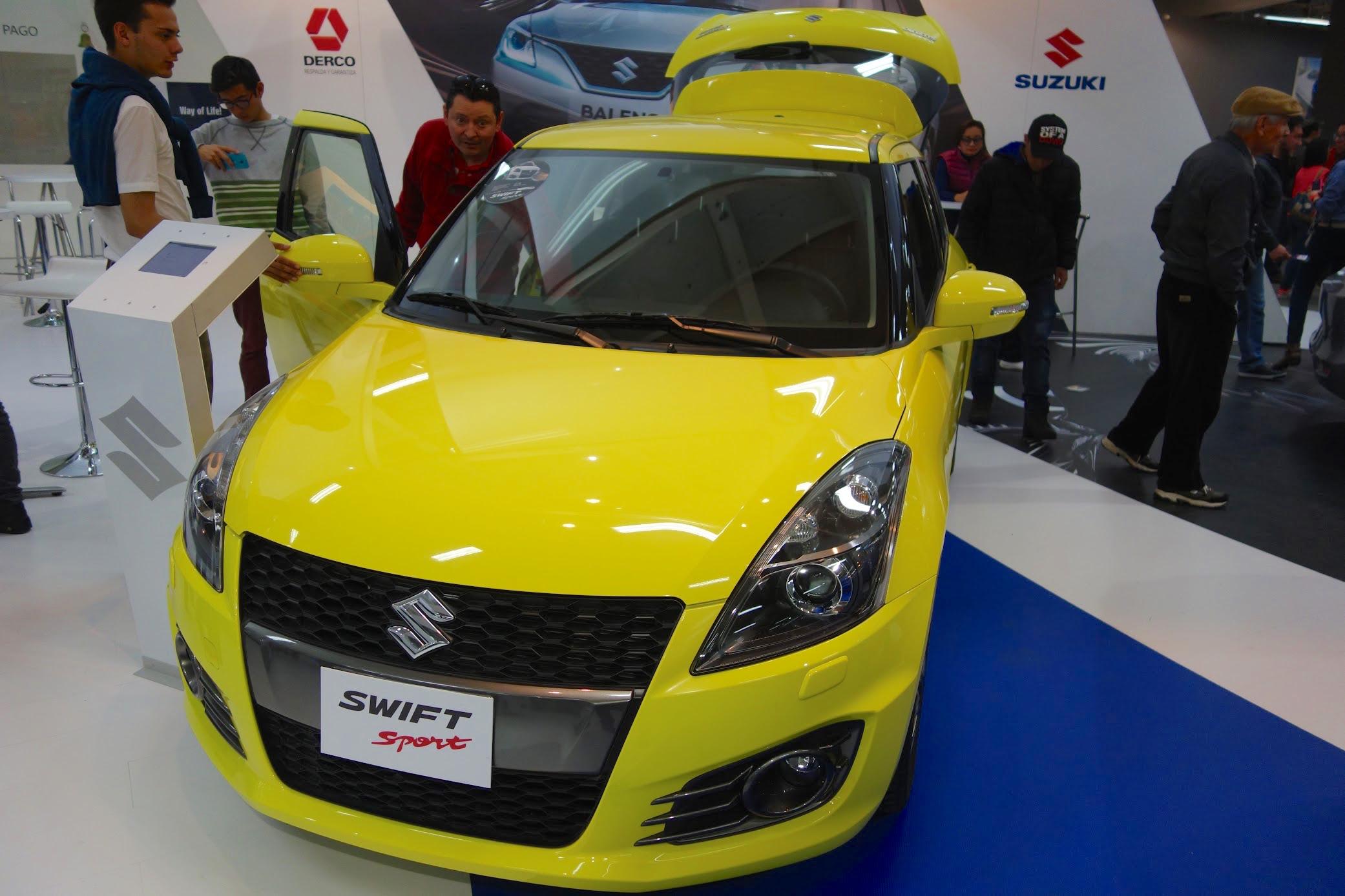 suzuki-swift-sport-at-the-bogota-motor-show