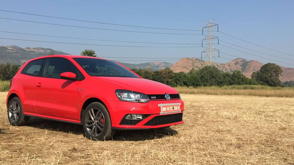 VW Polo GTI front three quarter photographed