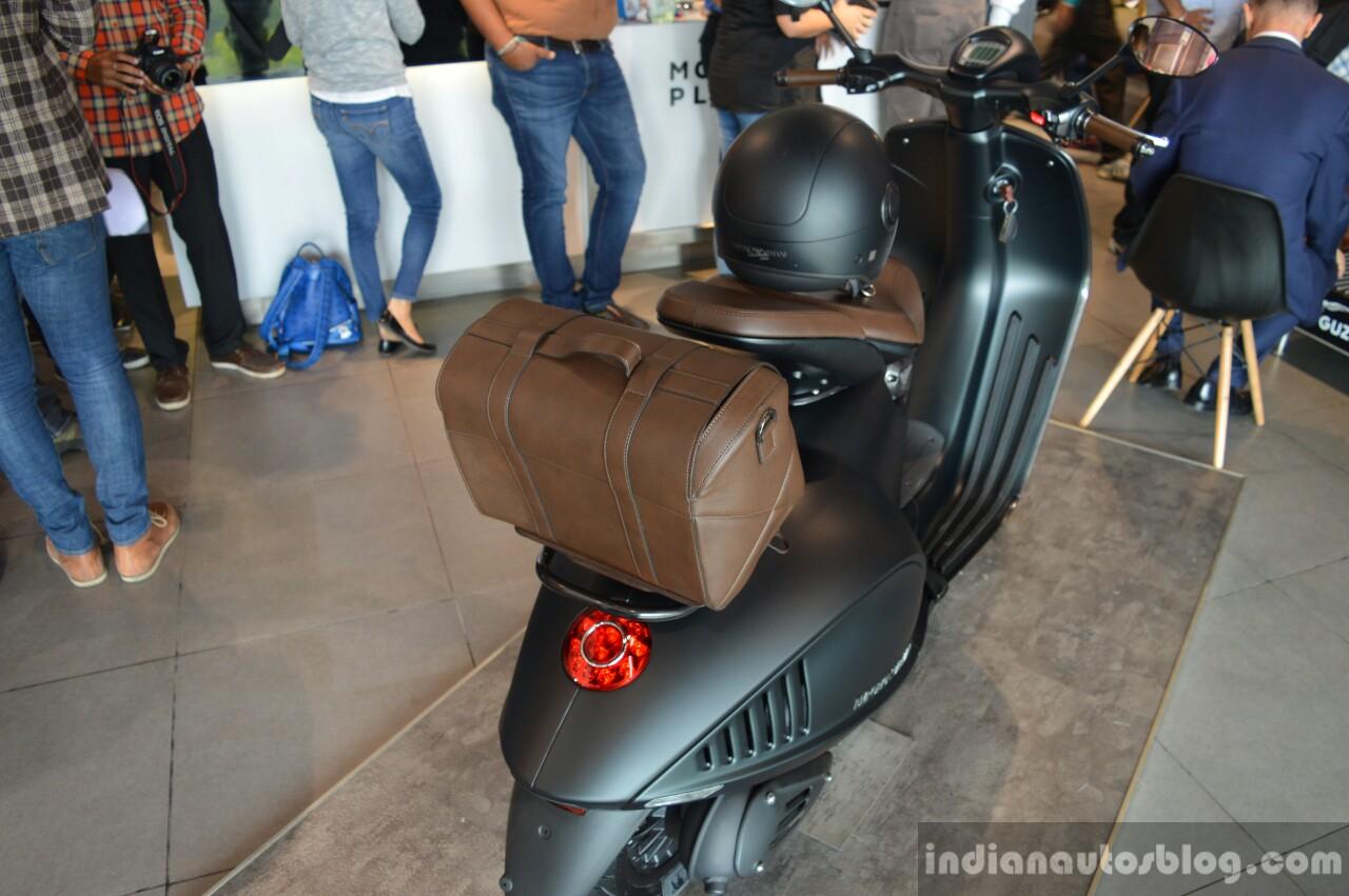 Vespa 946 Emporio Armani rear quarter launched