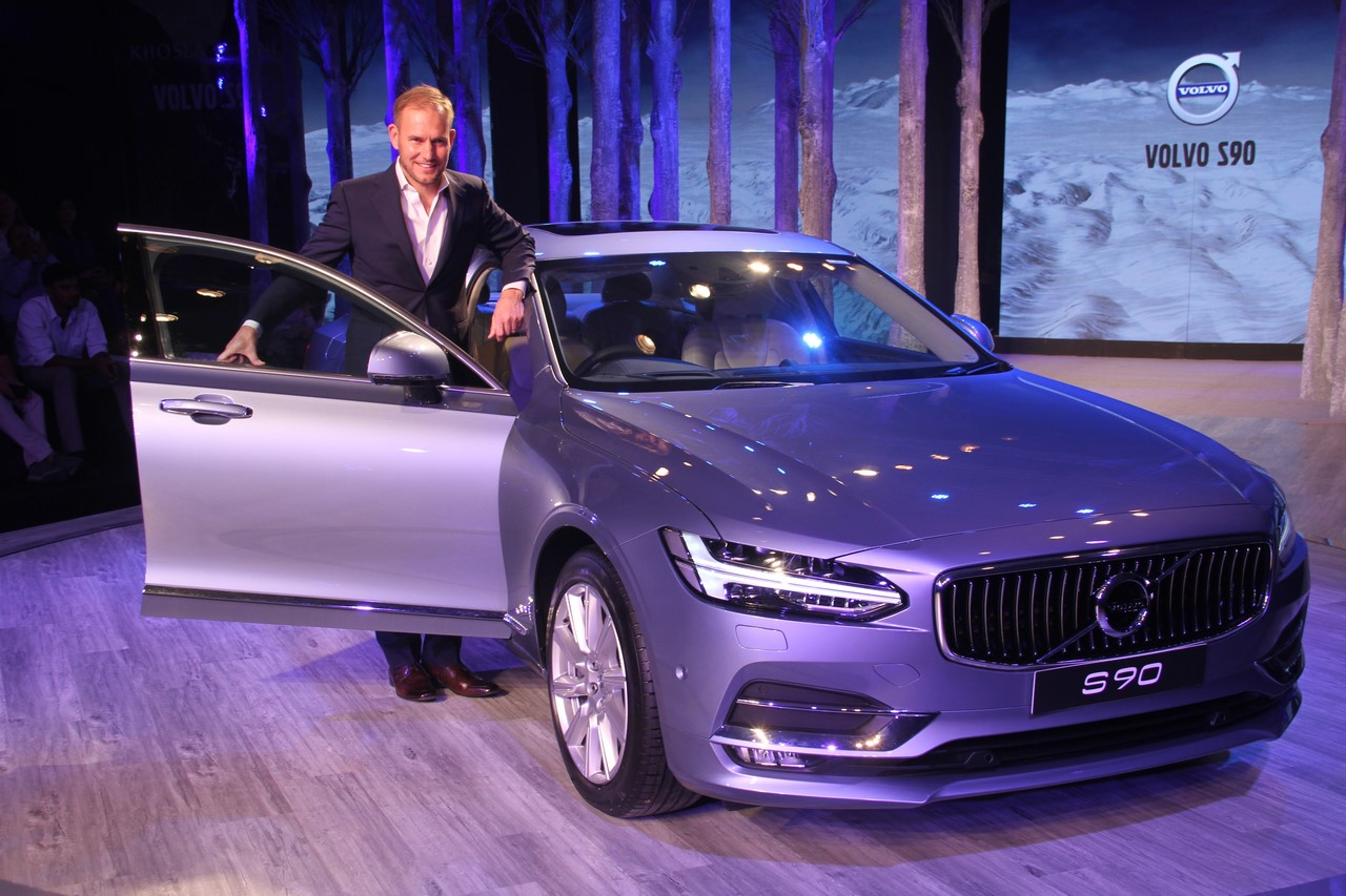 Volvo S90 India launch