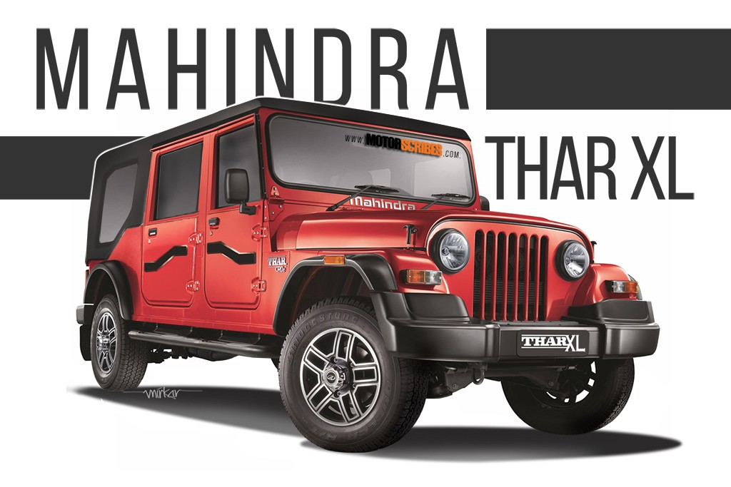 Should M M Build A Four Door Mahindra Thar Rendering