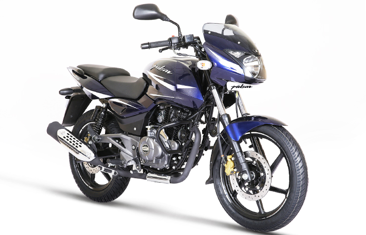 2017 Bajaj Pulsar 180 front three quarter right