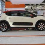 2017 Citroen C3 profile at 2016 Bologna Motor Show