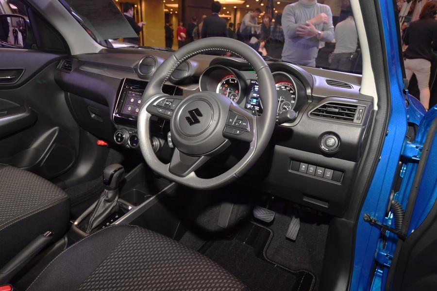 2017 Suzuki Swift interior launch event