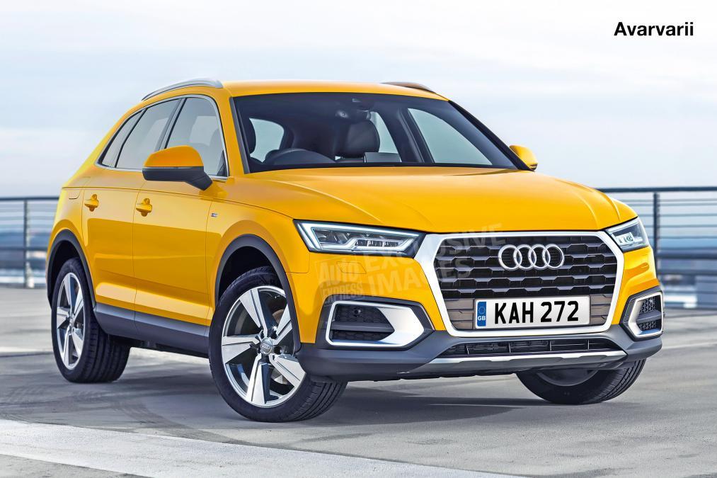 2018 Audi Q3 front Rendering