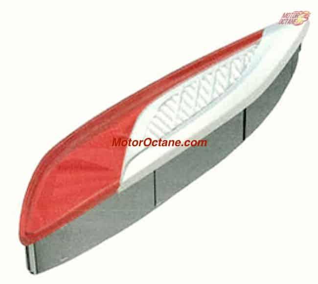 Bajaj Chetak taillight