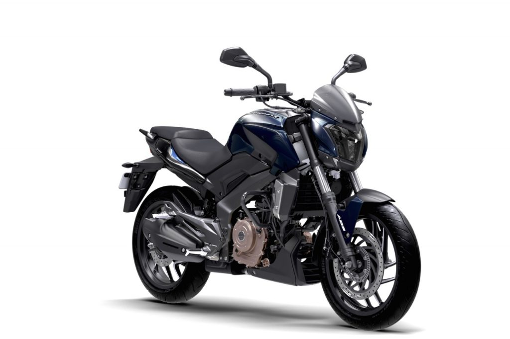 Bajaj Dominar 400 Midnight Blue press image