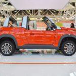 Citroen E-Mehari profile at 2016 Bologna Motor Show