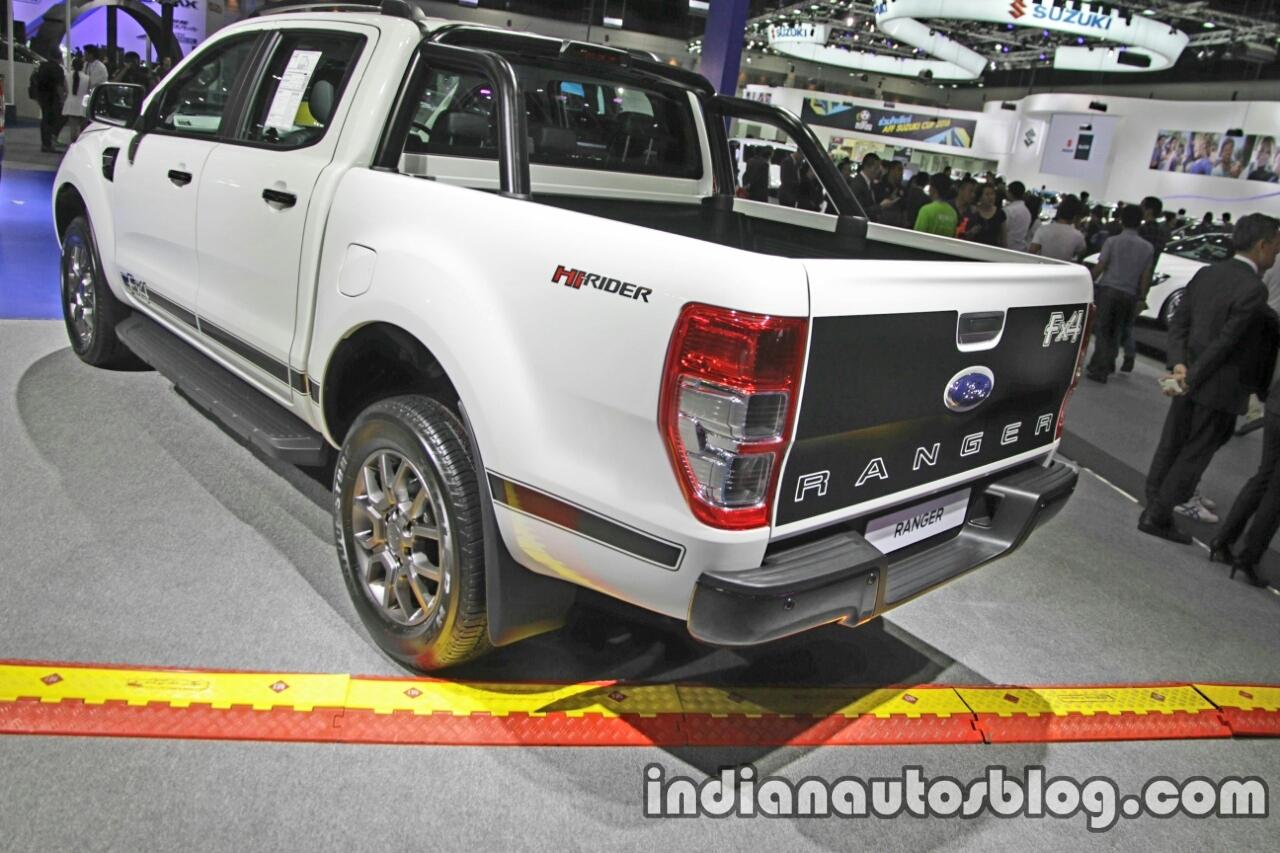 2008 Ford Ranger Fx4 Reviews >> Ford Ranger Hi-Rider FX4 rear three quarters at 2016 Thai Motor Expo