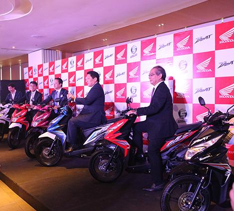 Honda Beat launch