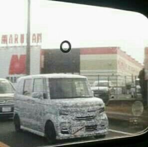 Honda N-Box spy shot front