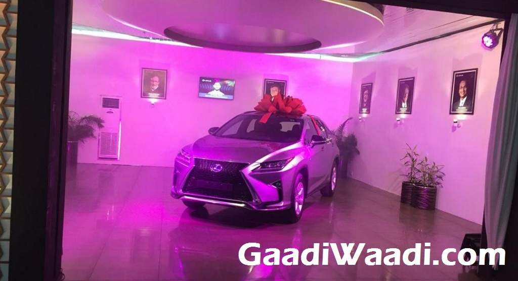 Lexus RX 450h India first delivery