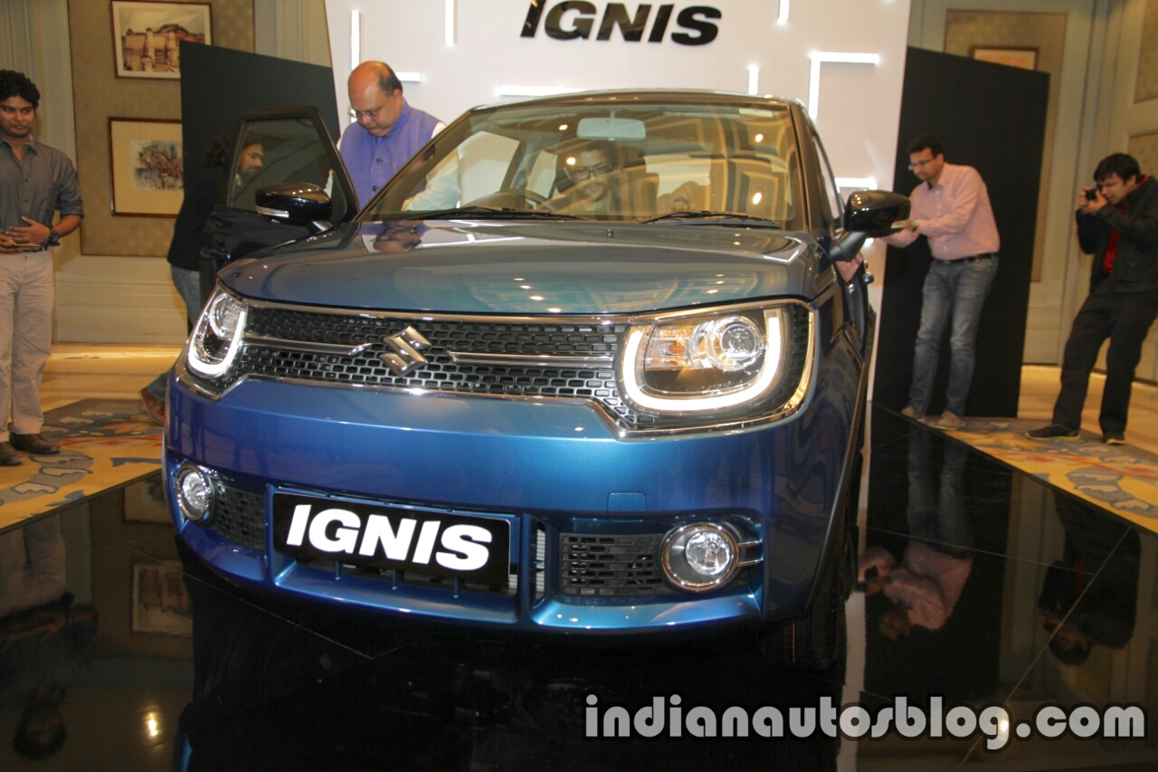 Maruti Ignis front unveiled