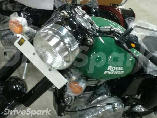 Royal Enfield Classic 350 green