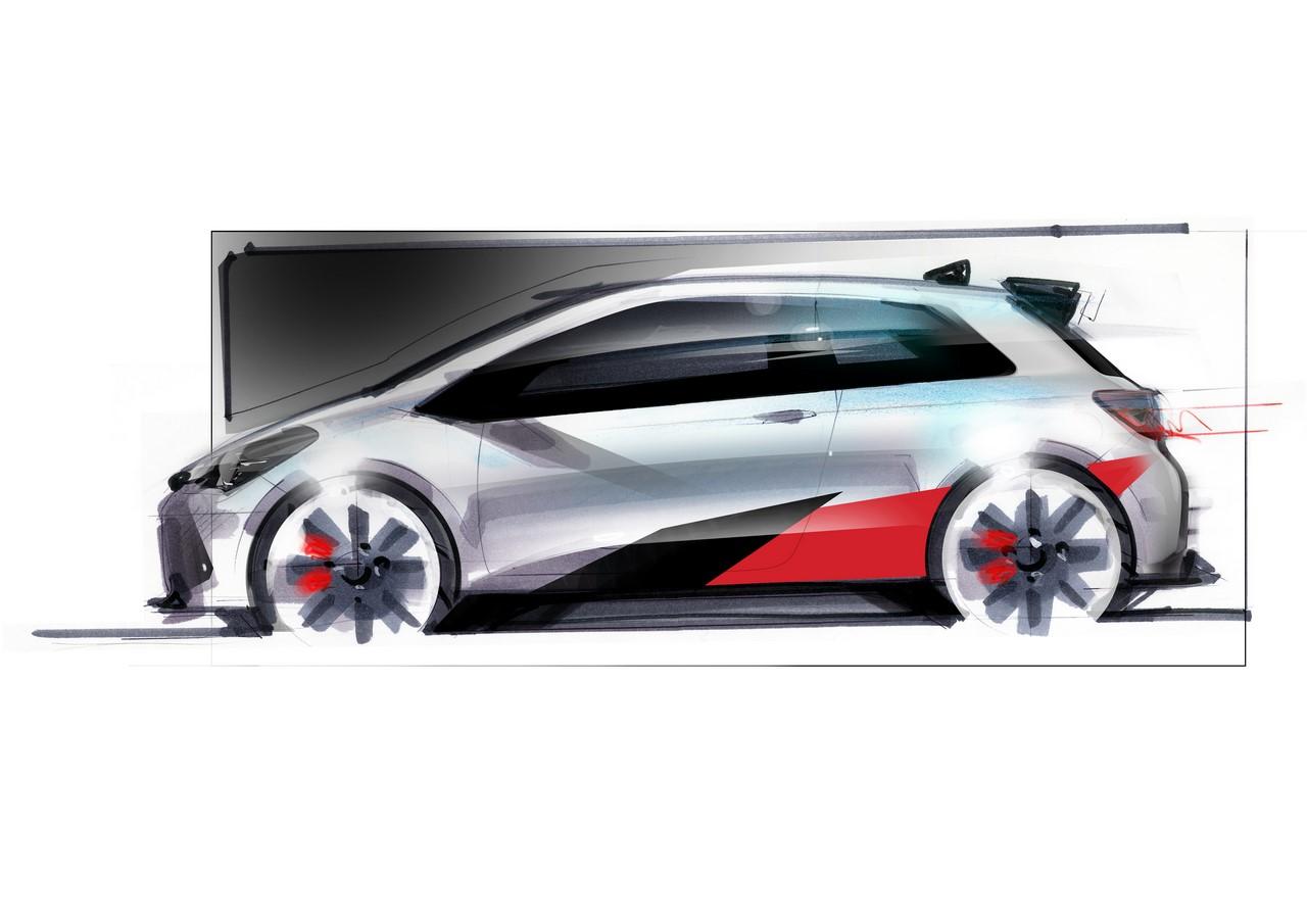 Toyota Yaris performance variant teaser