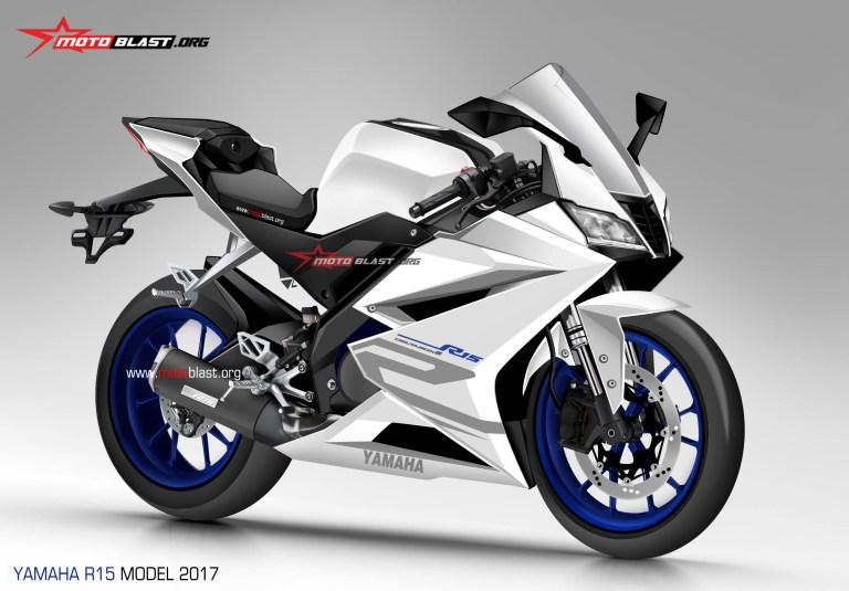 Yamaha R15 rendering