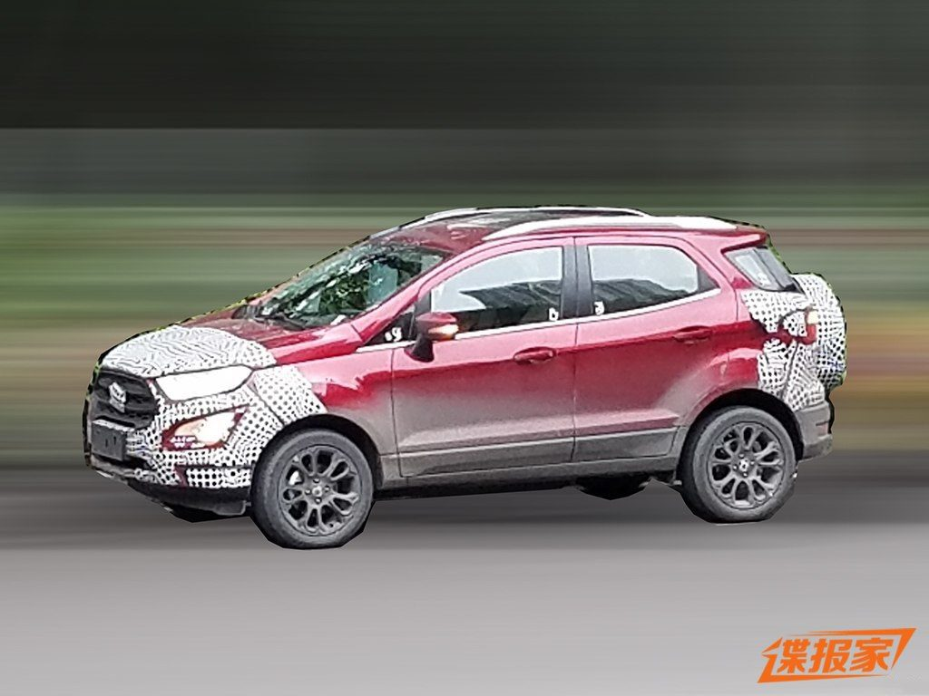 2017 Ford EcoSport China specification side
