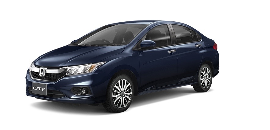 2017 Honda City (facelift) front three quarter