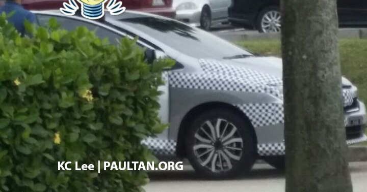 2017 Honda City (facelift) spied in Malaysia