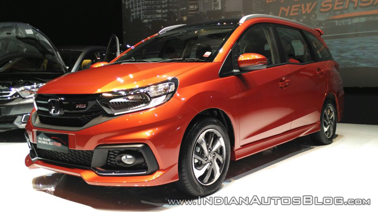 2017 Mobilio >> 2017 Honda Mobilio Rs Front Three Quarter Indonesia