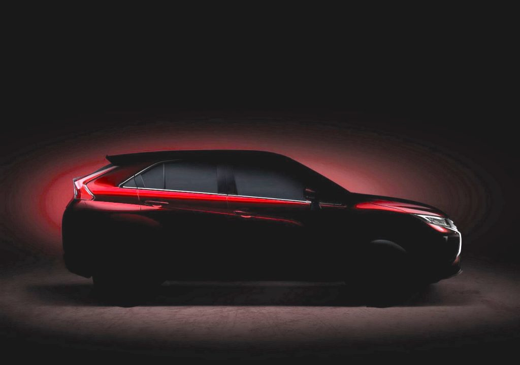 2017 Mitsubishi Eclipse teaser