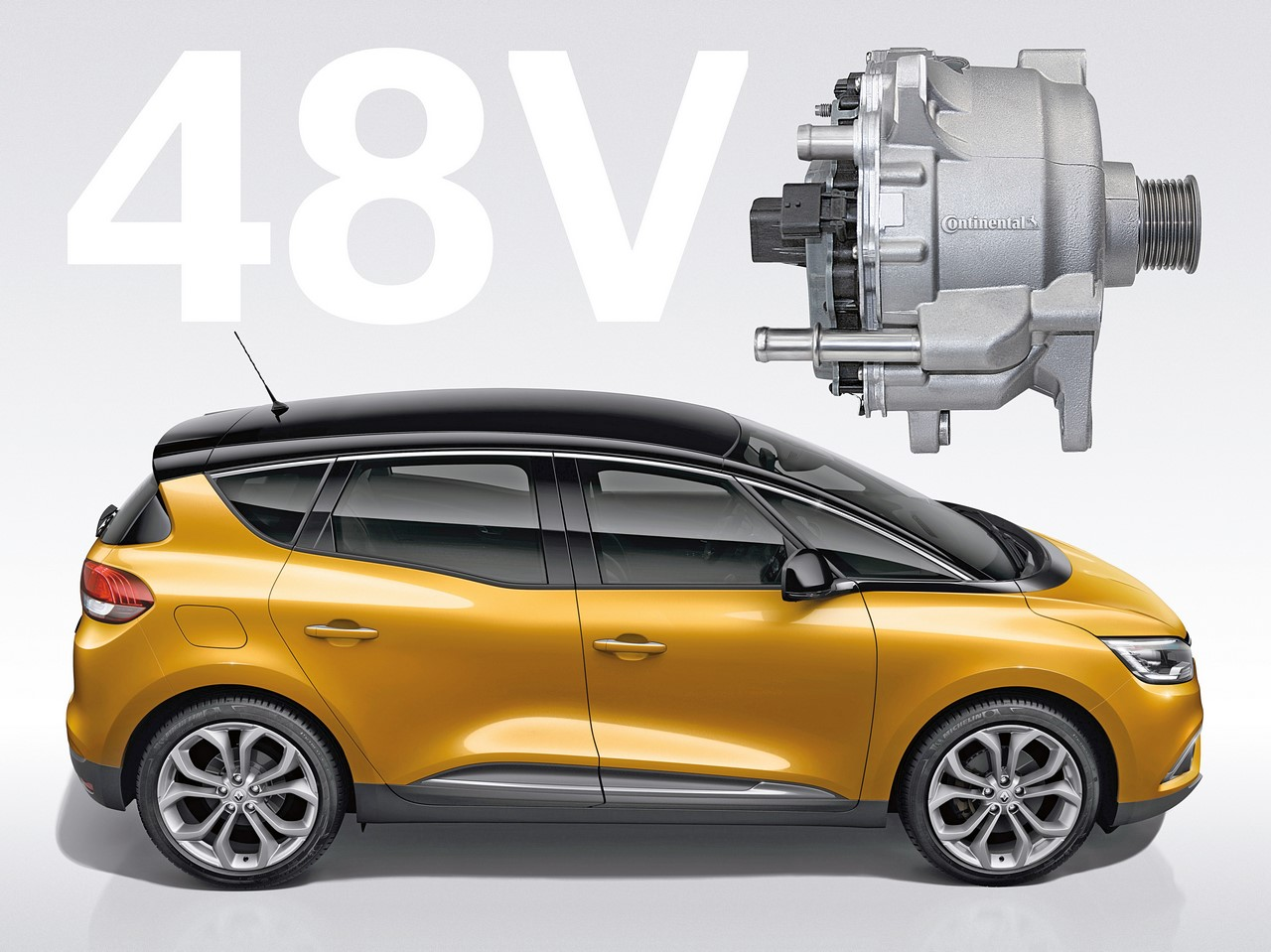2017 Renault Scenic Hybrid Assist