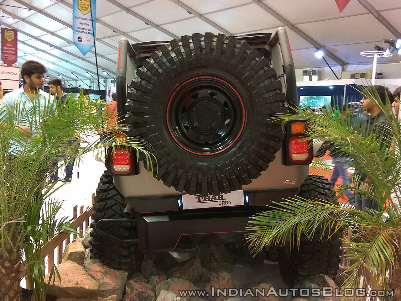 Mahindra Thar Daybreak Edition Showcased At Aps 2017